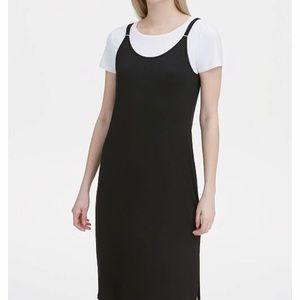 Calvin Klein T-Shirt Dress sz L, NWT